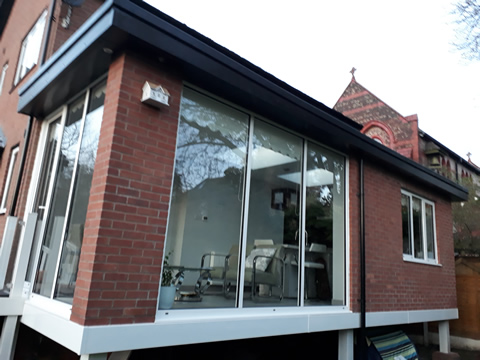Kitchen and lounge extension, Monton, Greater Manchester. Paul Donouhue Building Services