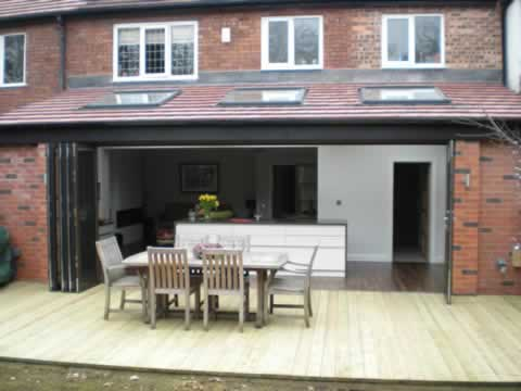 Paul donohue building services kitchen extensions for Kitchen diner extension ideas